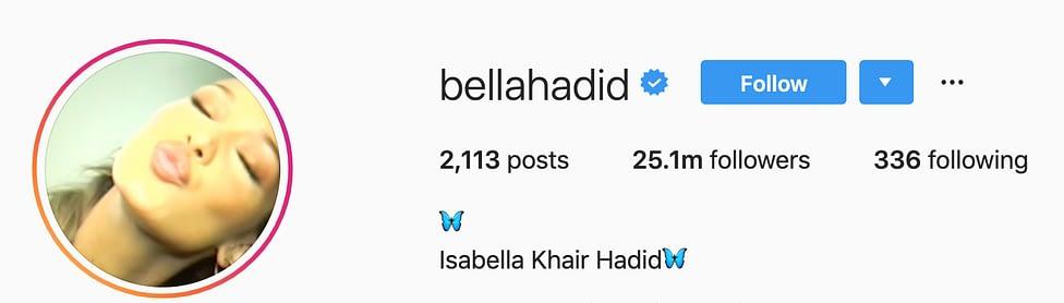 @bellahadid