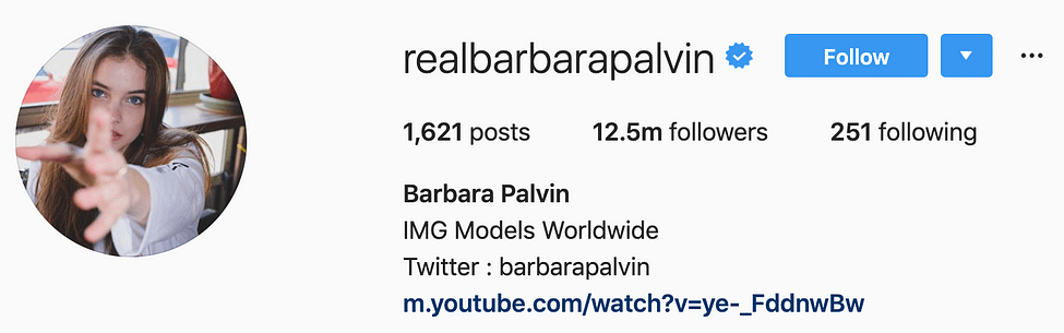 @realbarbarapalvin instagram models