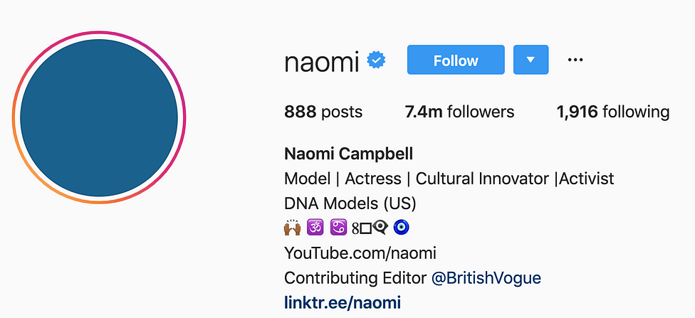 @naomi instagram models